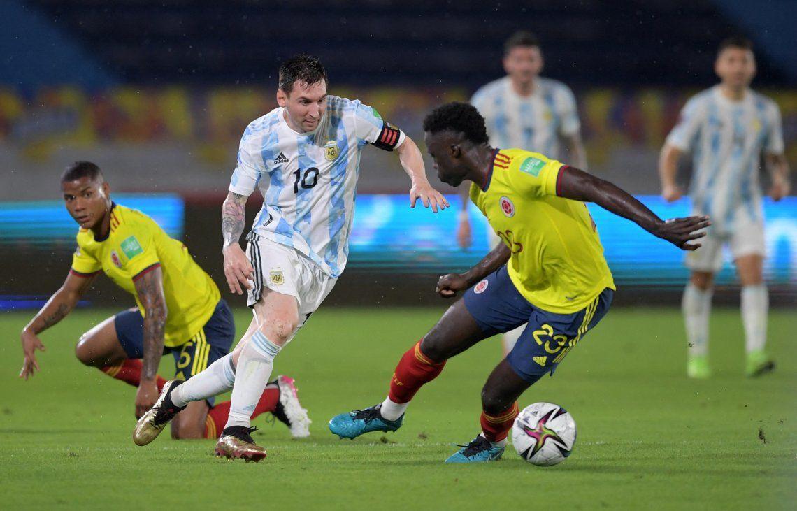 Las mejores fotos del empate de la Selección Argentina en Barranquilla