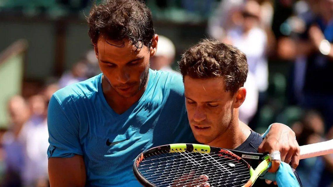 Diego Schwartzman enfrenta a Rafael Nadal en los cuartos de Roland Garros