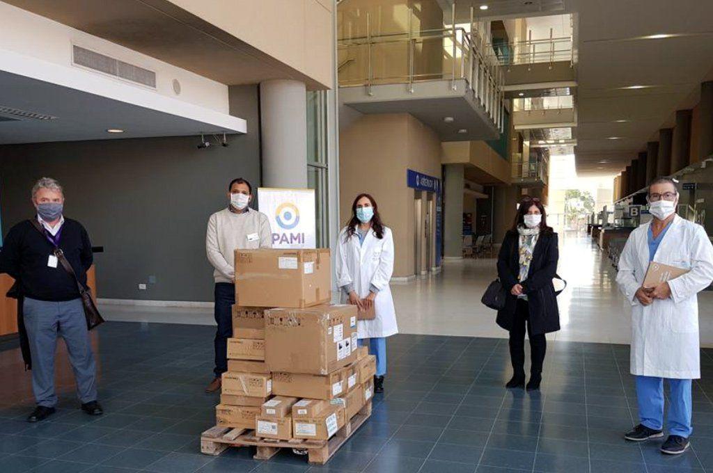 La imagen de la donación al municipio de Rosario que había dado a conocer la Fundación Messi.