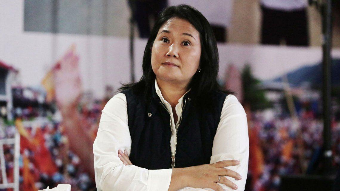 Keiko Fujimori enfrenta un revés judicial en medio del proceso electoral.