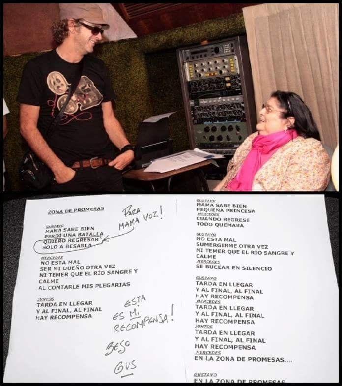 El primer video estrenado fue del tema Zona de promesas junto a Gustavo Cerati.