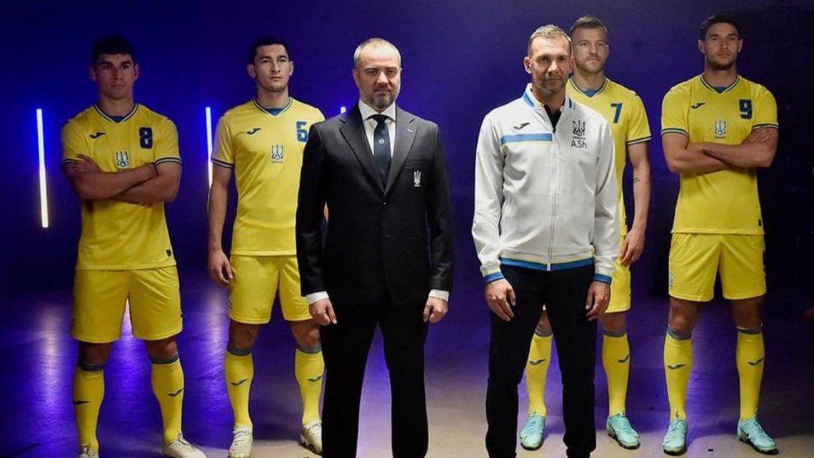 Eurocopa: obligan a Ucrania a eliminar eslogan de su camiseta.