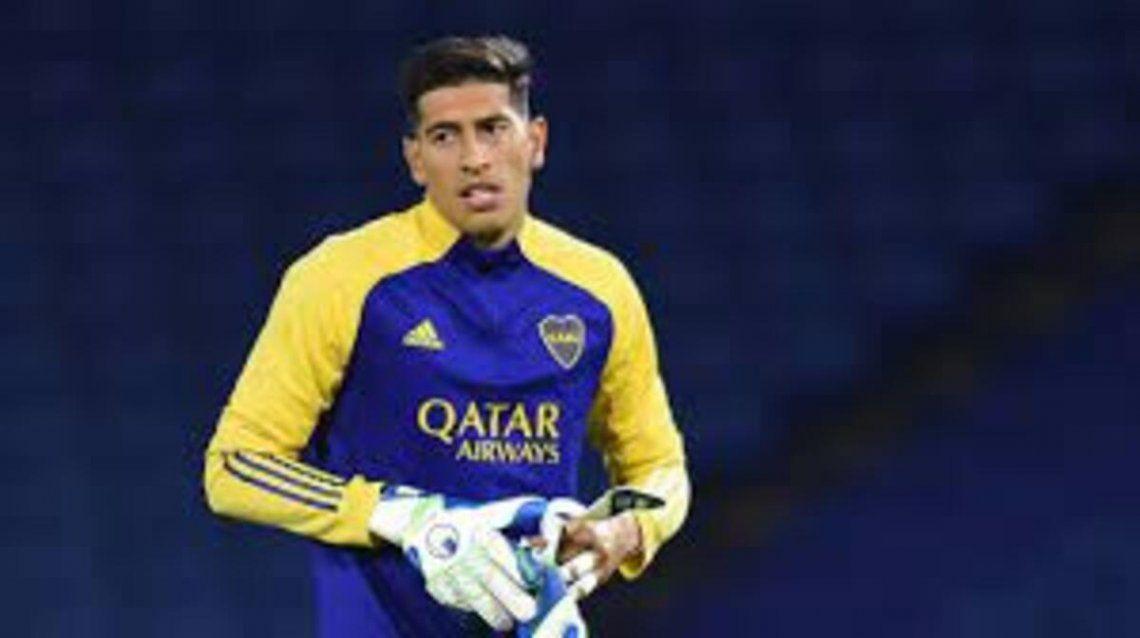 El representante de Esteban Andrada aclaró la situación del arquero con el club