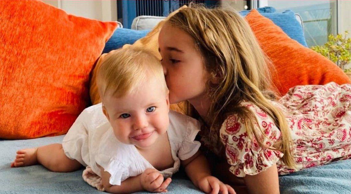 Las hermanas Anna y Olivia