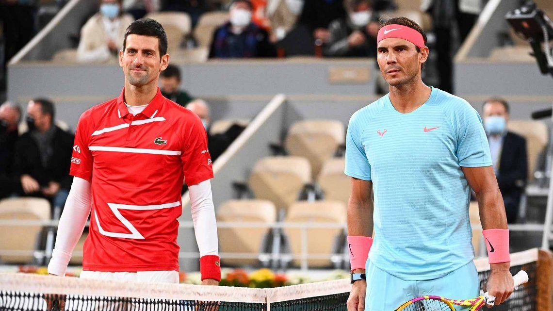 Roland Garros: Nadal y Djokovic, una semi con gusto a final
