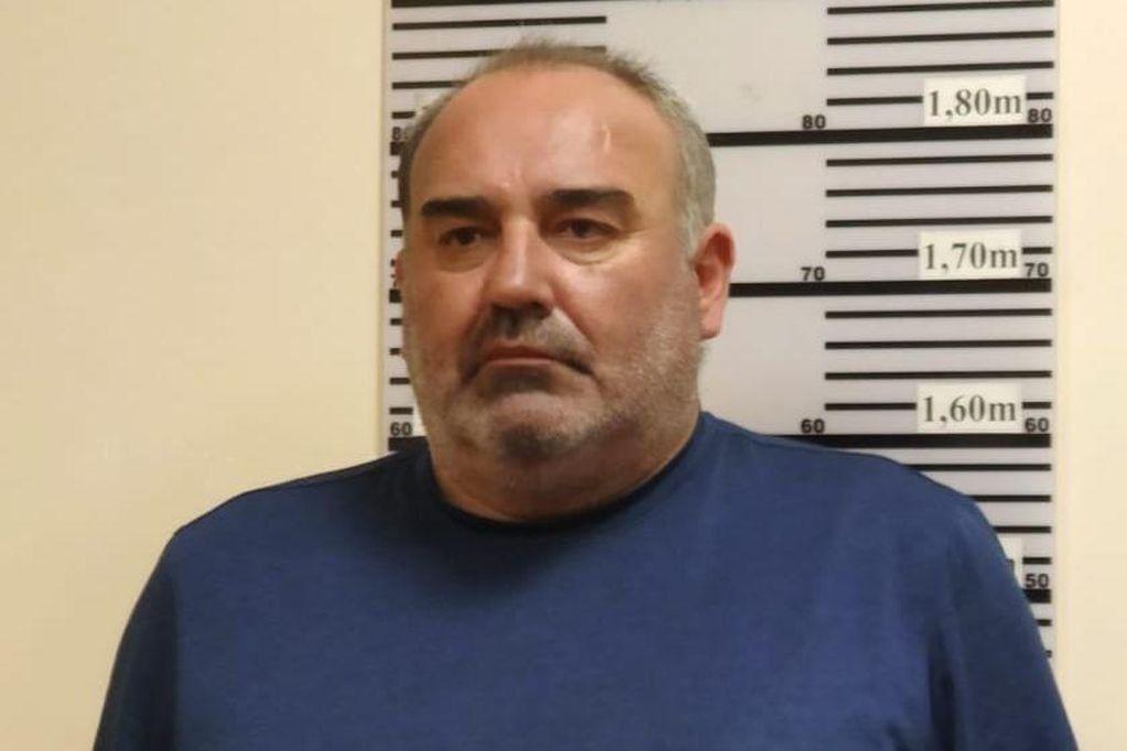 Ángel Cabrera está preso