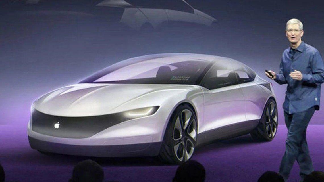 Apple va por su primer vehículo eléctrico.