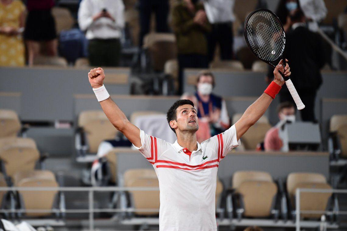 Novak Djokovic derrotó a Nadal y jugará la final de Roland Garros