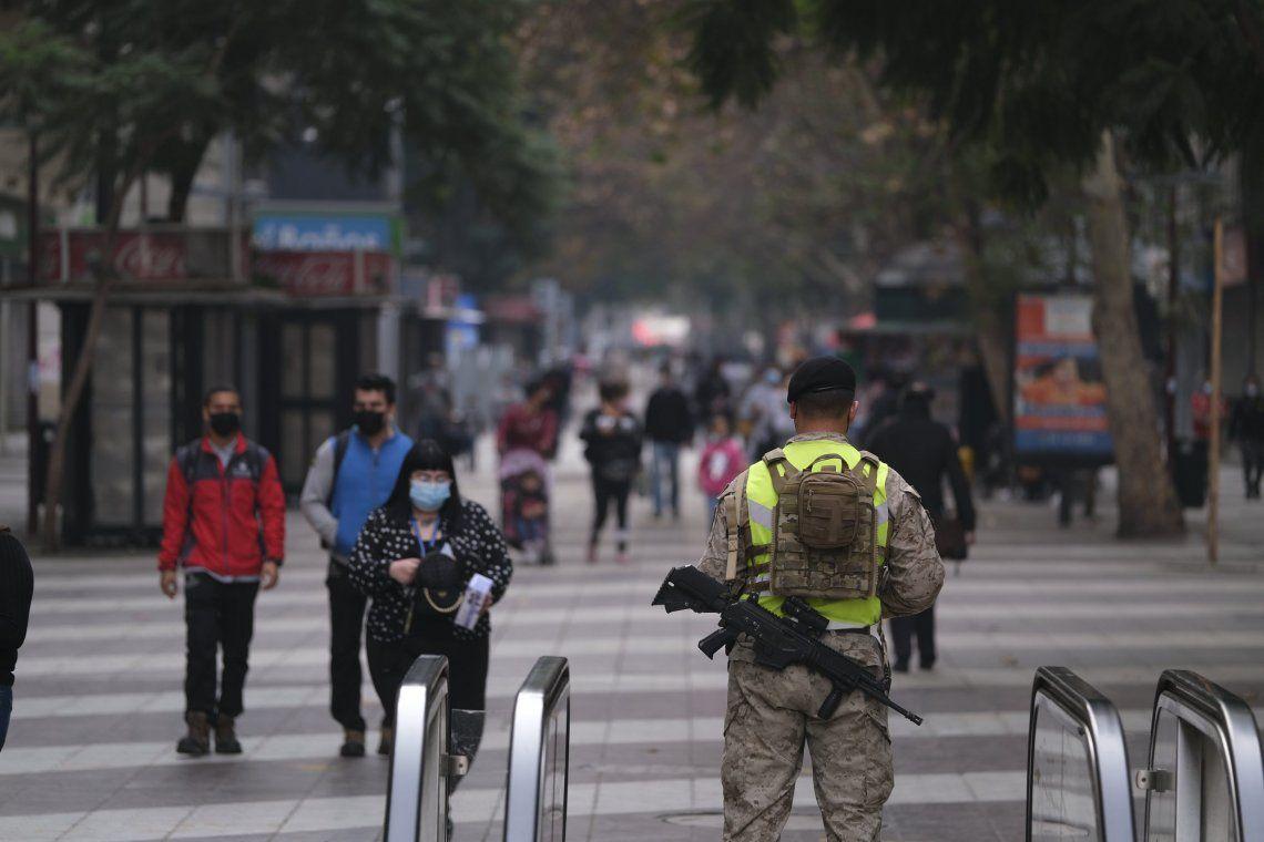 Chile: nuevo aislamiento total en la Región Metropolitana por rebrote