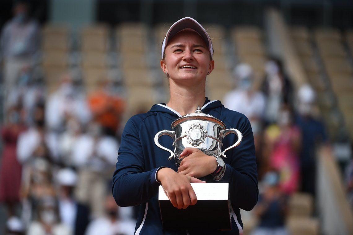 La checa Krejčíková es la nueva campeona de Roland Garros