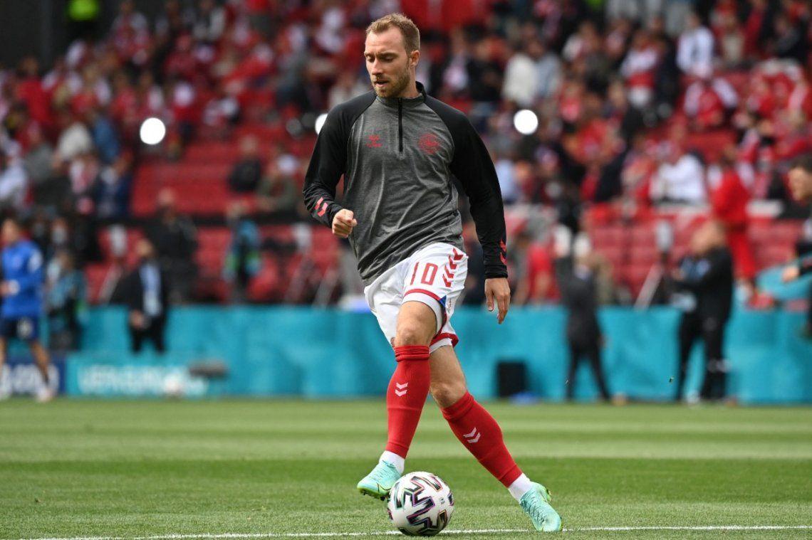 Christian Erkisen se desmayó en medio del debut de Dinamarca en la Eurocopa