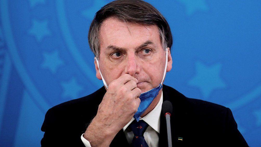 Jair Bolsonaro fue multado en San Pablo