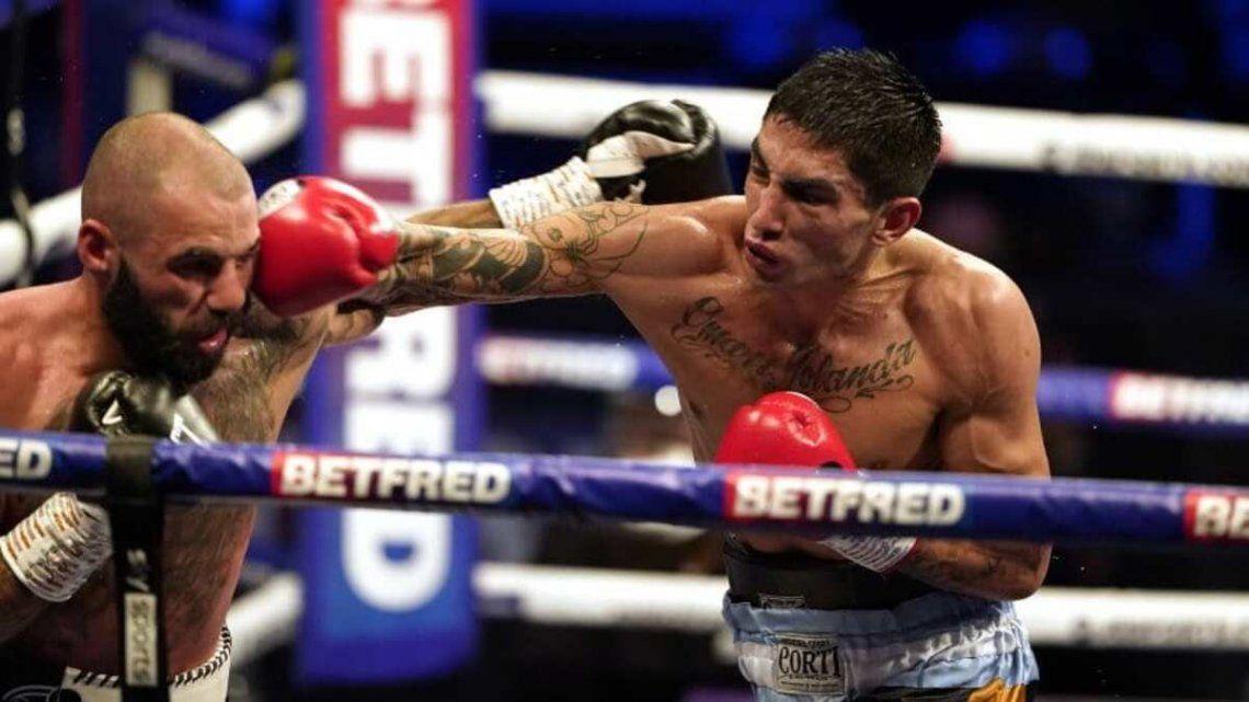 Jeremías Ponce derribó tres veces a Ritson en el décimo round.