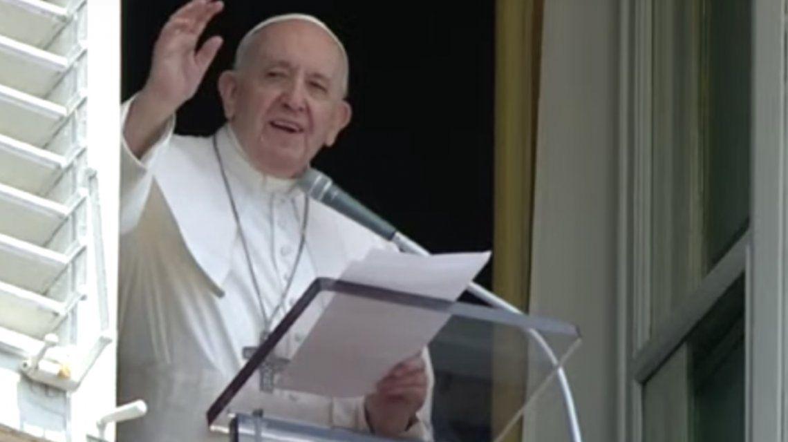 El Papa recordó el naufragio de un barco de migrantes en el Mediterráneo en 2015 en el murieron 672 personas.