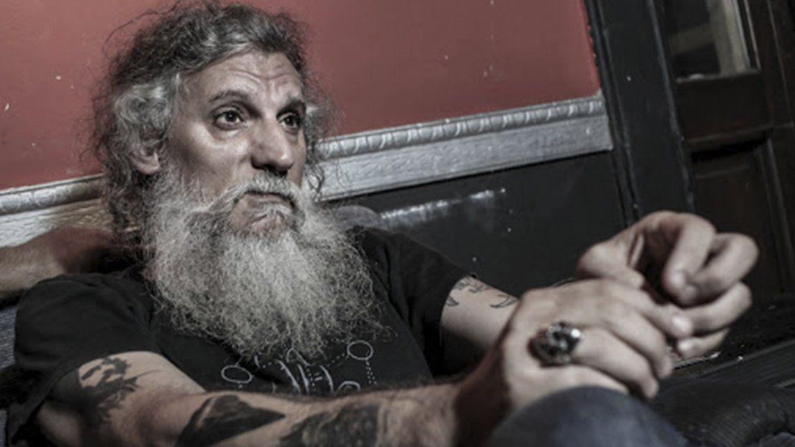 El cantante stoner Pato Larralde