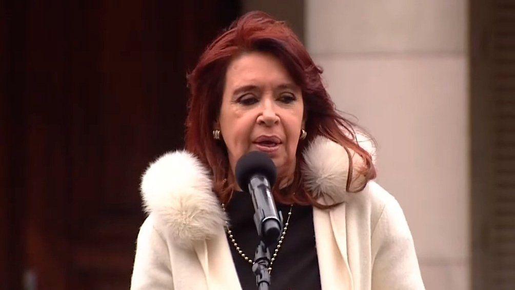 Cristina cerró un acto en La Plata.