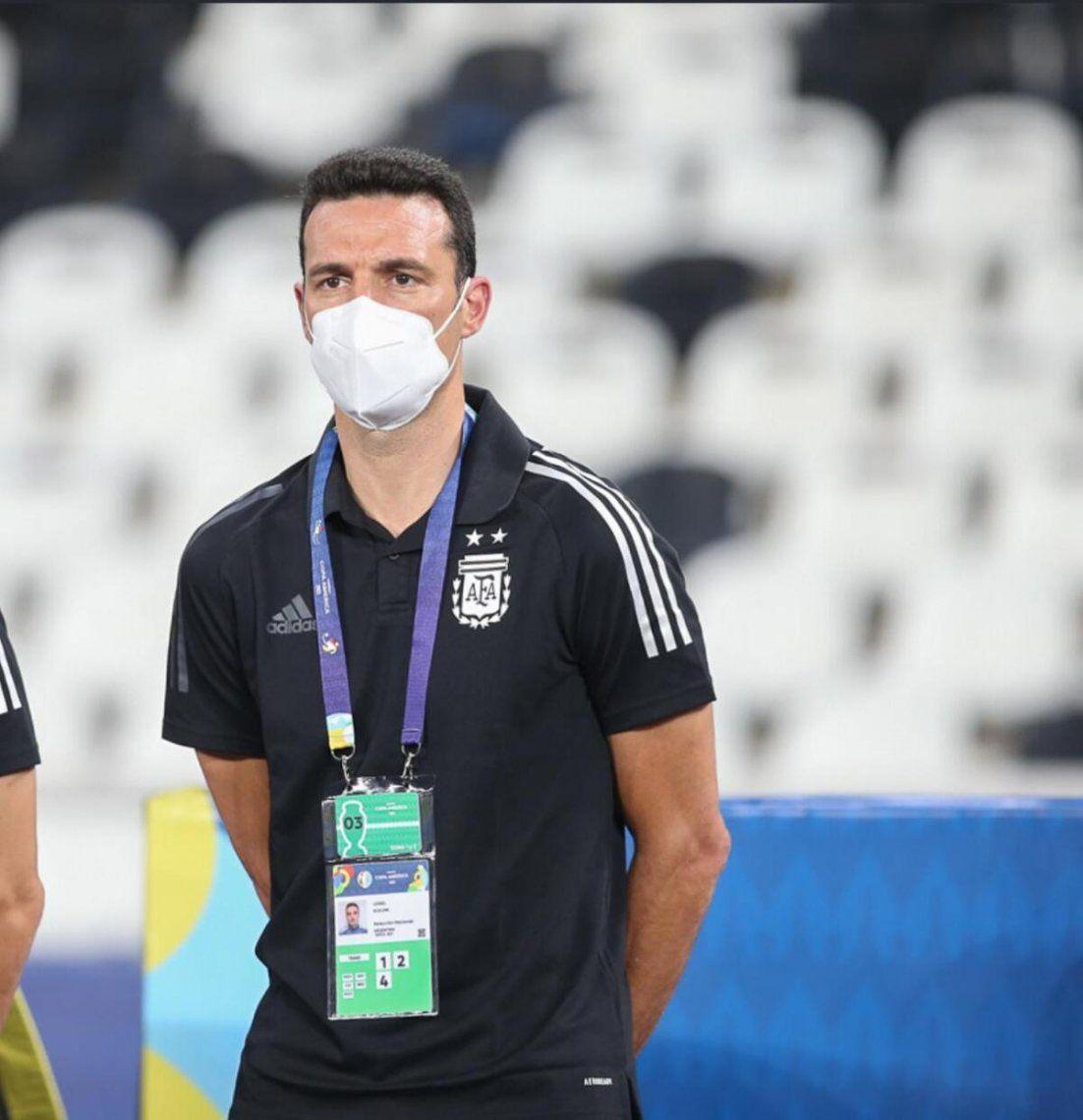 Lionel Scaloni habló tras el debut de su equipo en la Copa América.