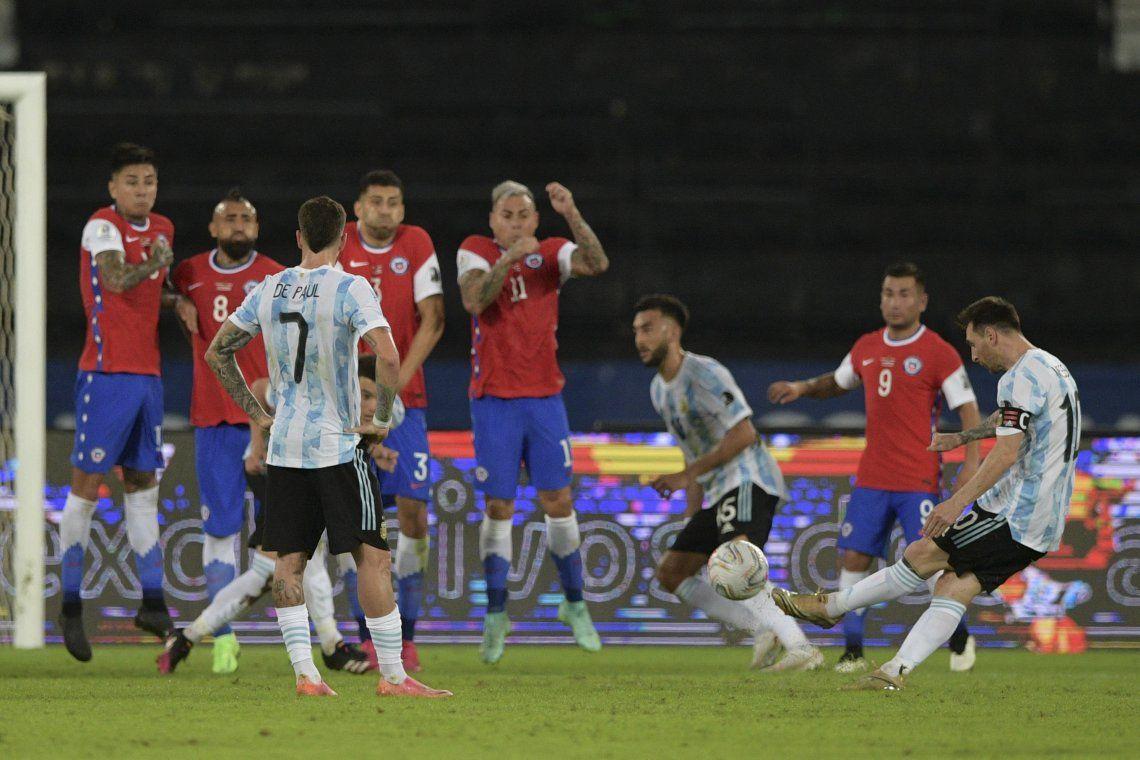 Copa América: las mejores fotos del empate entre Argentina y Chile