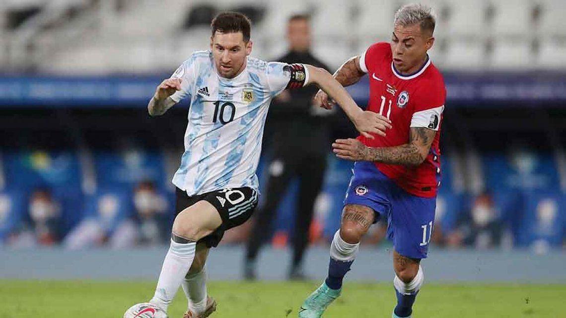 Argentina empató 1-1 con Chile en su debut dentro de la Copa América.