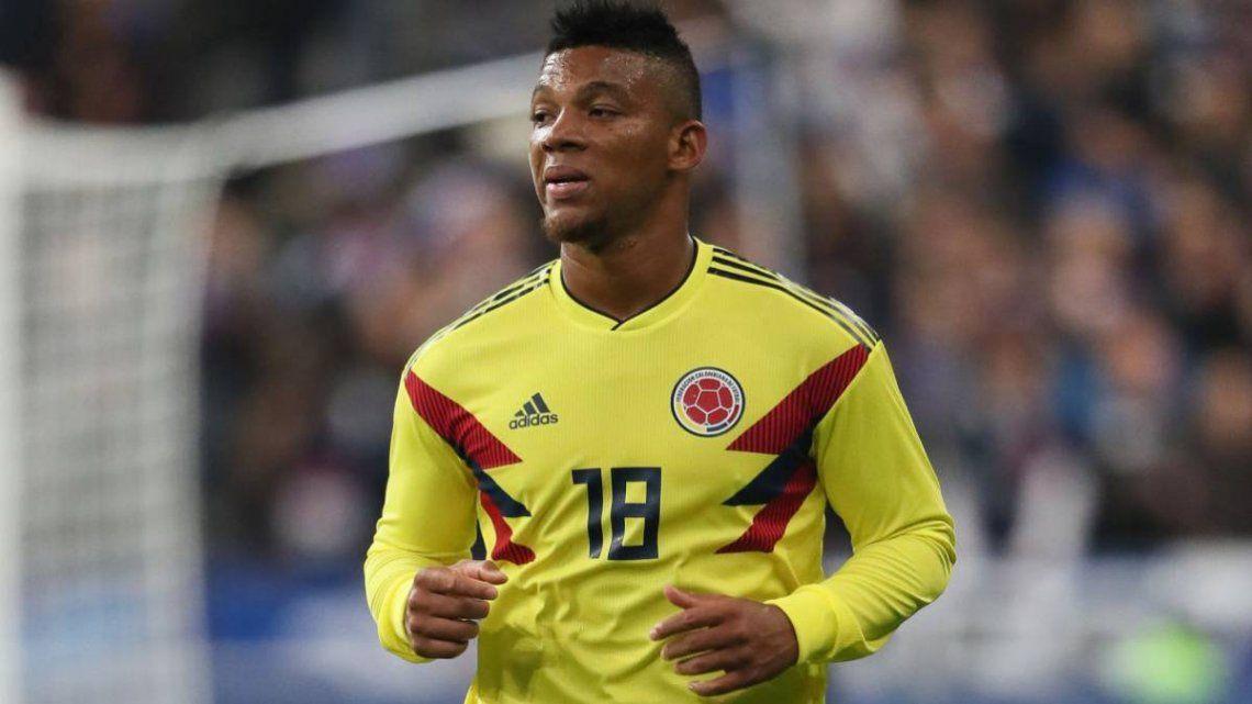 Copa América: Frank Fabra fue convocado a la Selección Colombia
