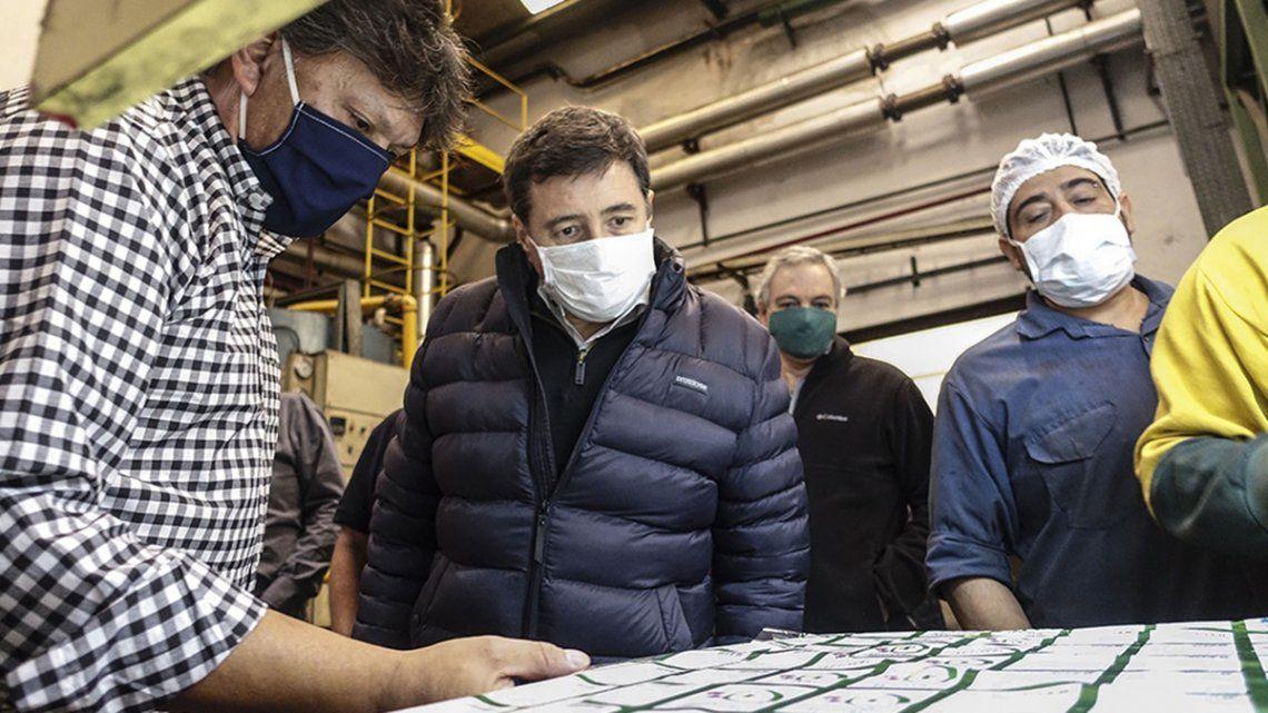 Arroyo afirmó que se apuntan a generar 300 mil puestos de trabajo con distintas modalidades.