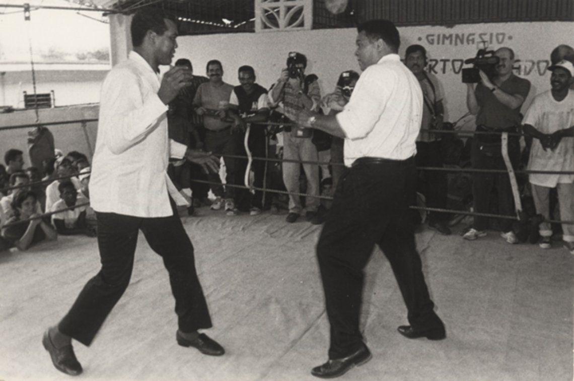 Muhammad Alí no se enfrentó contra el rey del boxeo amateur