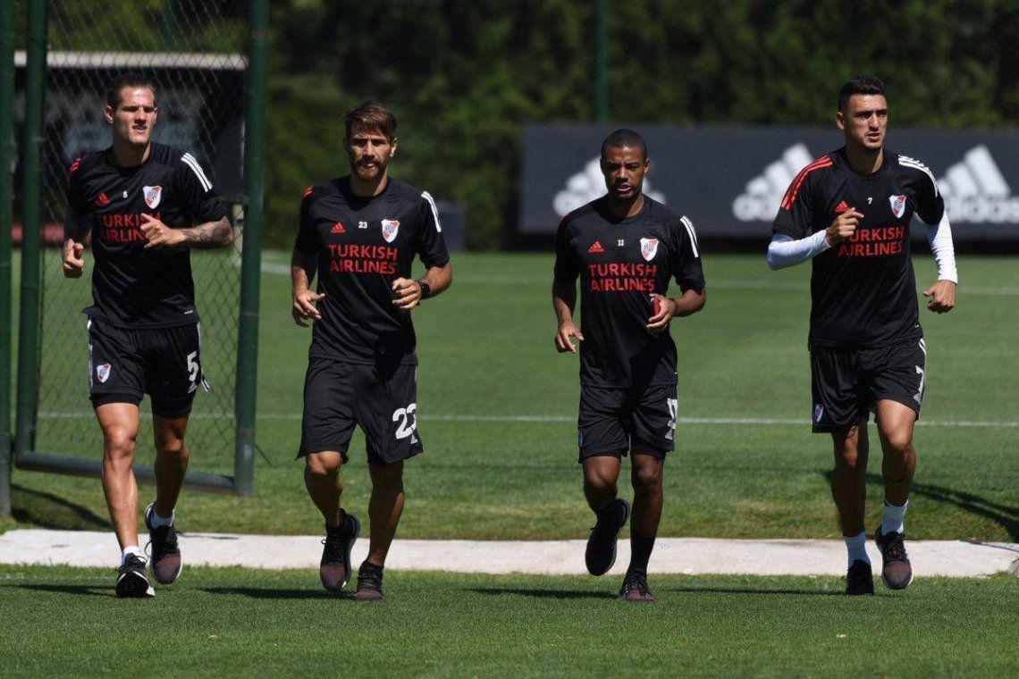 River vuelve a los entrenamientos antes de viajar a Orlando