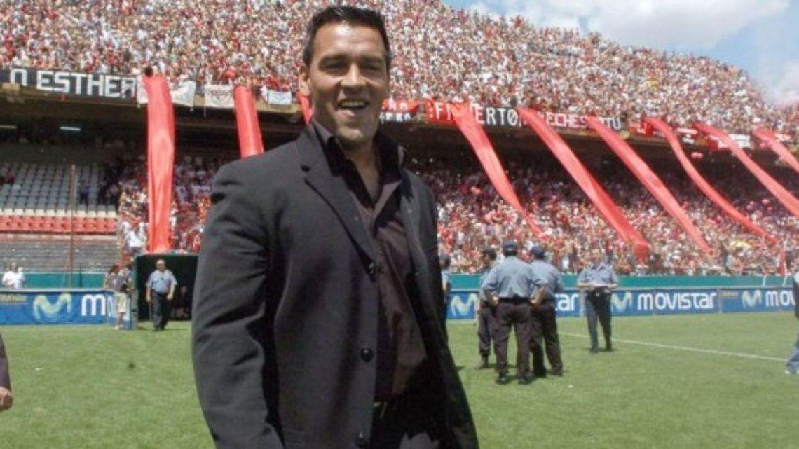 Fernando Gamboa volvió a Newells lleno de ilusiones