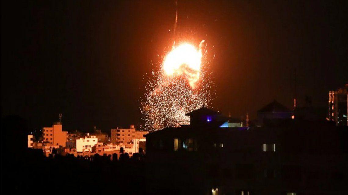 Franja de Gaza: otra vez ataques entre Israel y Hamas.