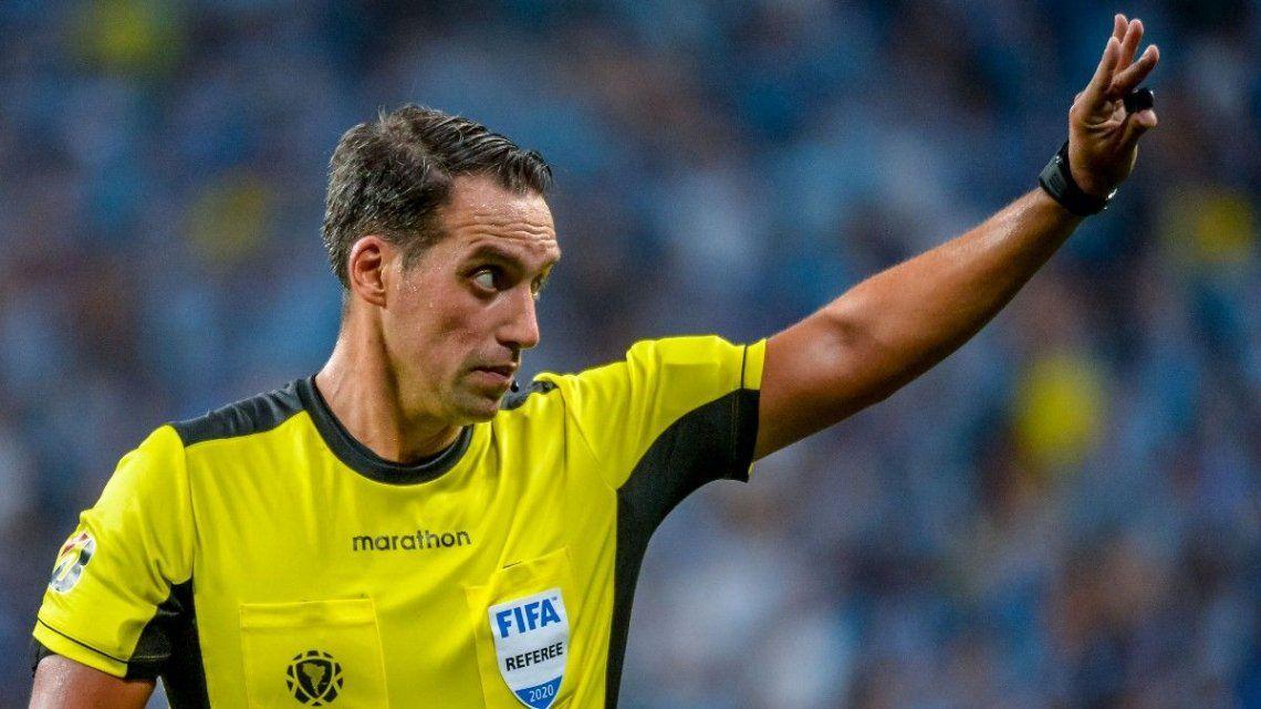 Rapallini tiene 43 años y es árbitro internacional desde 2014.