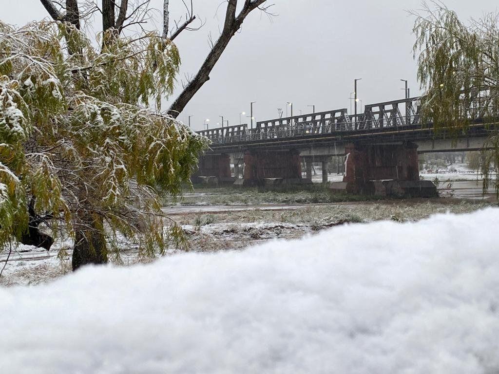 Los mejores videos de las nevadas en Córdoba y San Luis