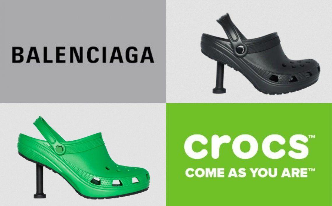 Se vienen las Crocs con taco by Balenciaga