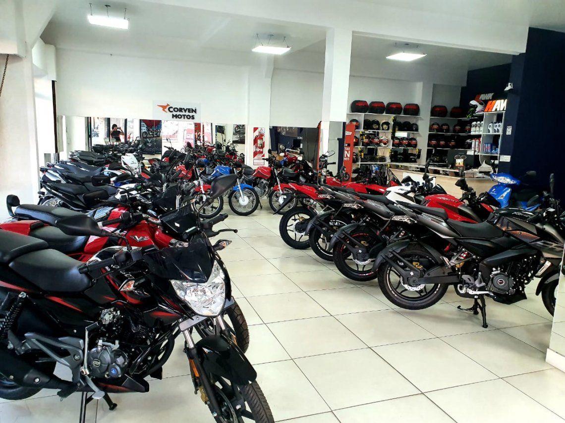 Se renovó el cupo para comprar motos en cuotas