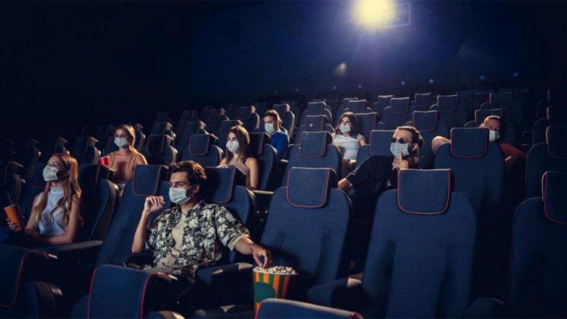 El gobierno confirmo la vuelta de los cines y teatros en todo el país.