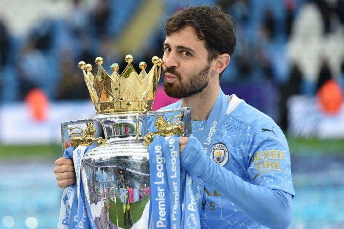 Bernardo Silva pidió irse del Manchester City.