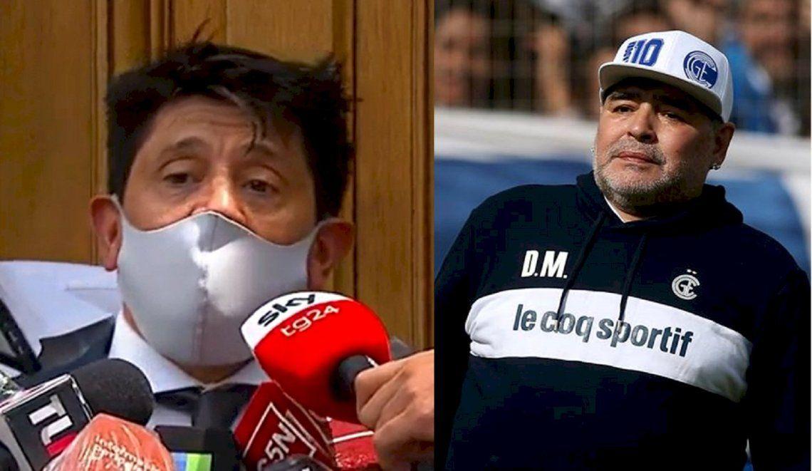 Maradona: abogado de la enfermera pidió el sobreseimiento.
