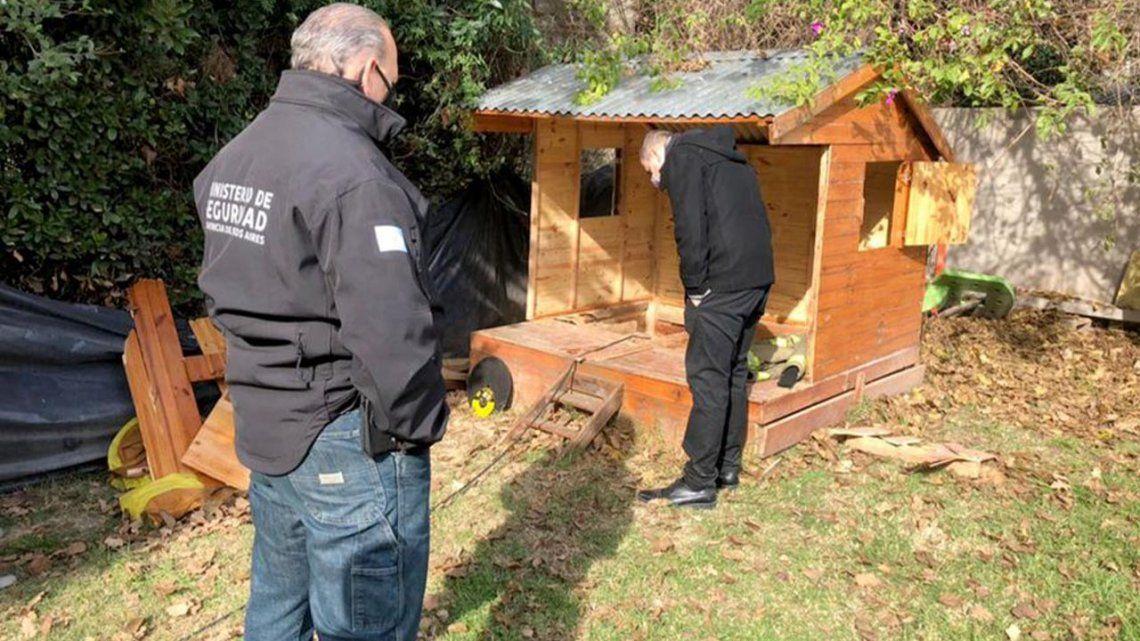 Un narco construyó un búnker subterráneo debajo de una casa de muñecas.