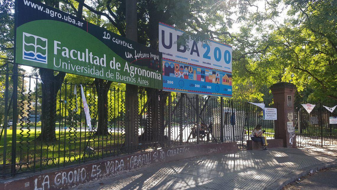El parque Agronomía permanece cerrado desde el inicio de la cuarentena en marzo de 2020.