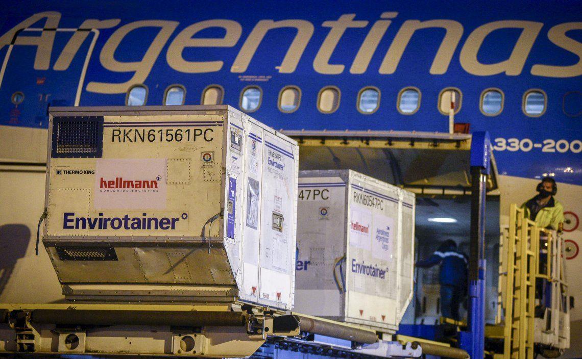 Argentina superó las 23,8 millones de dosis