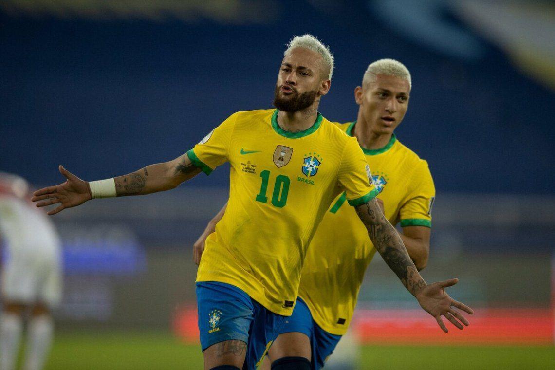Neymar y Brasil