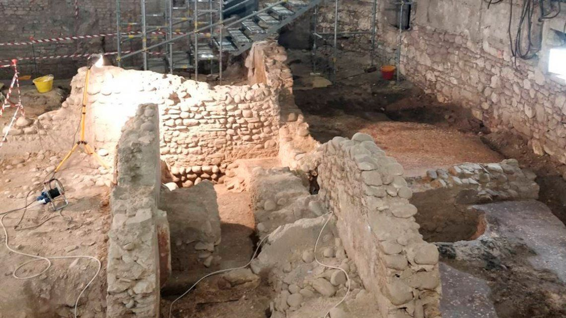 Italia: descubren una mini Pompeya de 2.000 años en el sótano de un cine