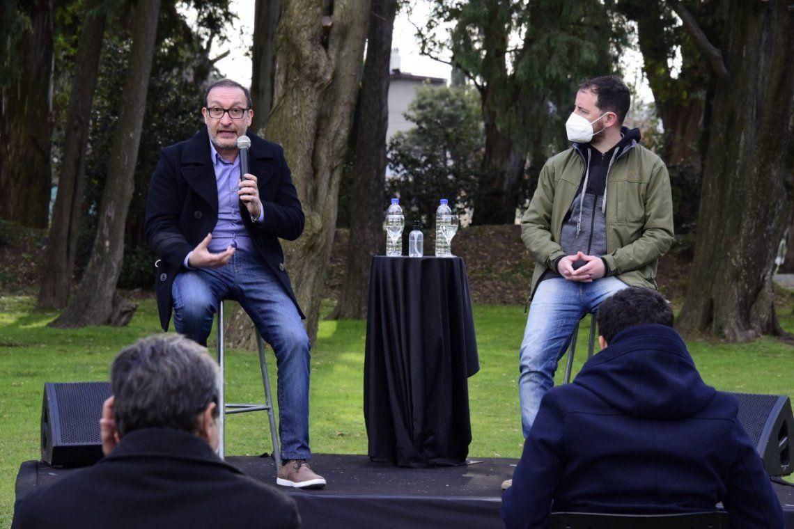 Luis Omar Vivona. y Ernesto Migone