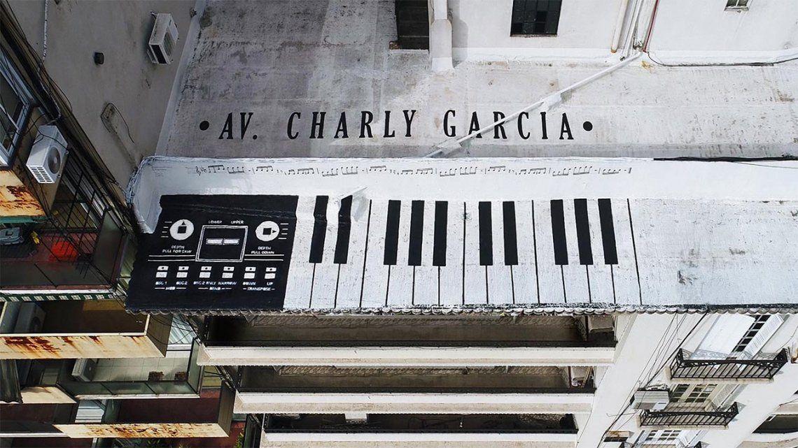 Charly García: le dedicaron un increíble mural en Palermo.