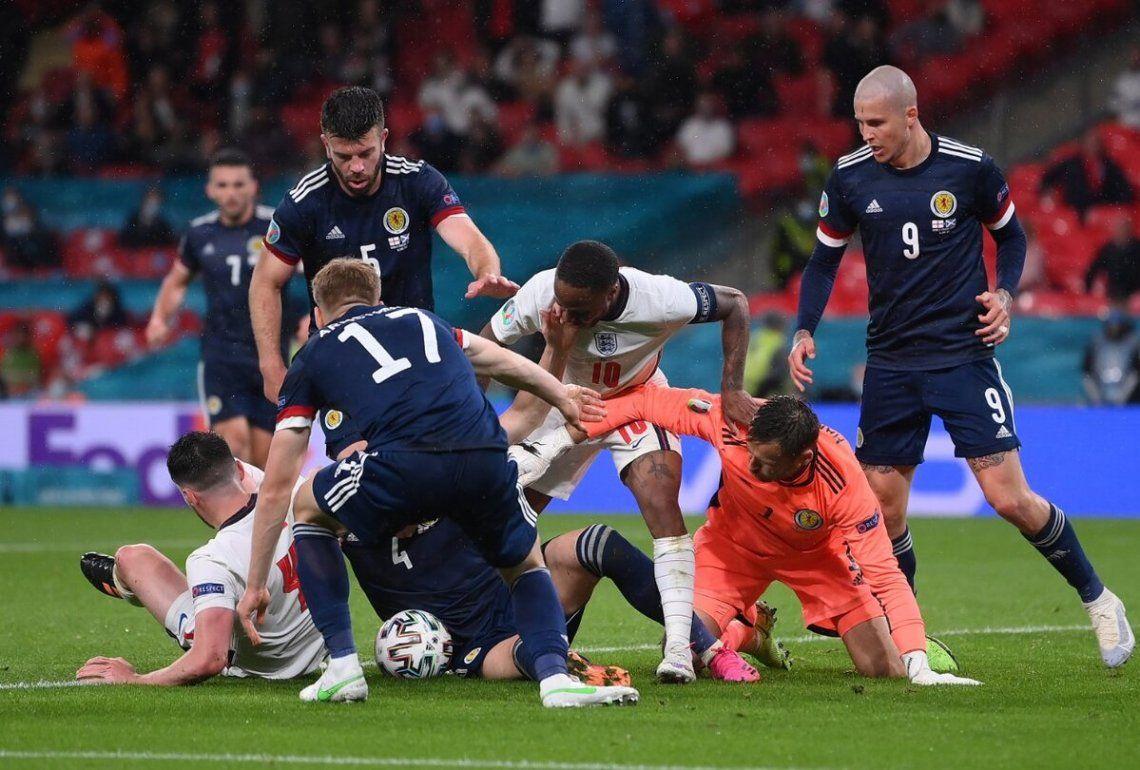 Muy luchado. Así fue el clásico entre Inglaterra y Escocia.