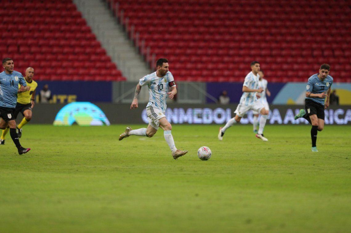Las mejores fotos de la victoria de la Selección Argentina ante Uruguay