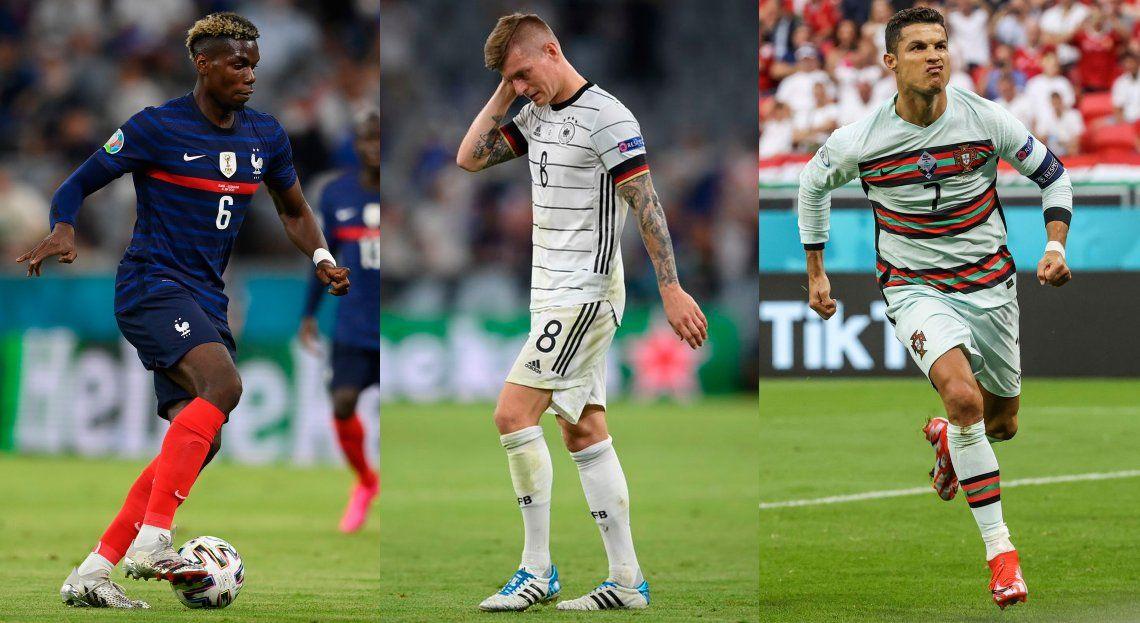 Francia visita a Hungría y Alemania quiere recuperarse ante Portugal