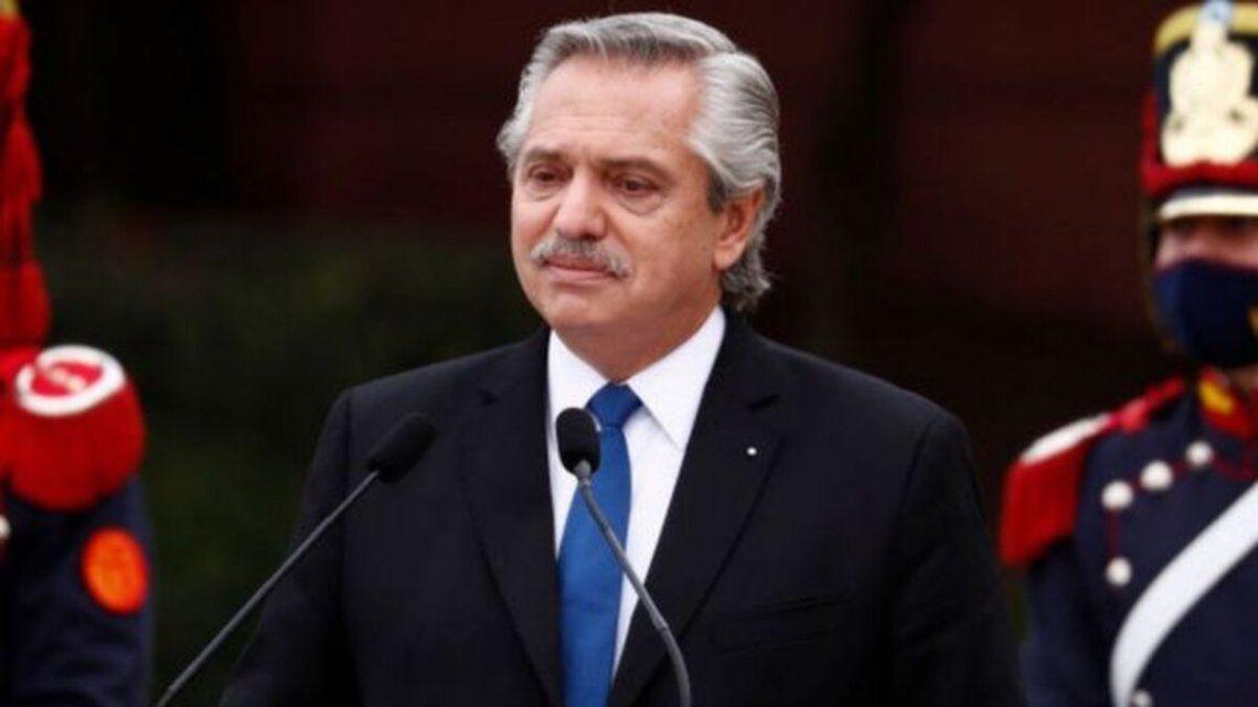 Alberto Fernández encabezará el acto por el Día de la Bandera
