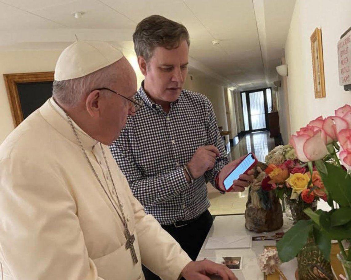 Juan Carlos Cruz agradeció al Papa su nombramiento como miembro de la Comisión Pontificia para la Protección de Menores.