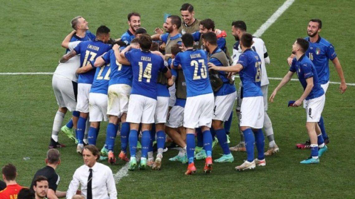 Italia no recibió goles en la fase de grupos.