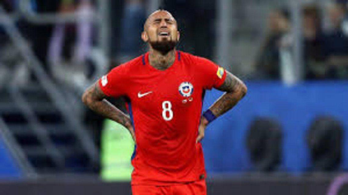 Arturo Vidal fue uno de los implicados de Chile.